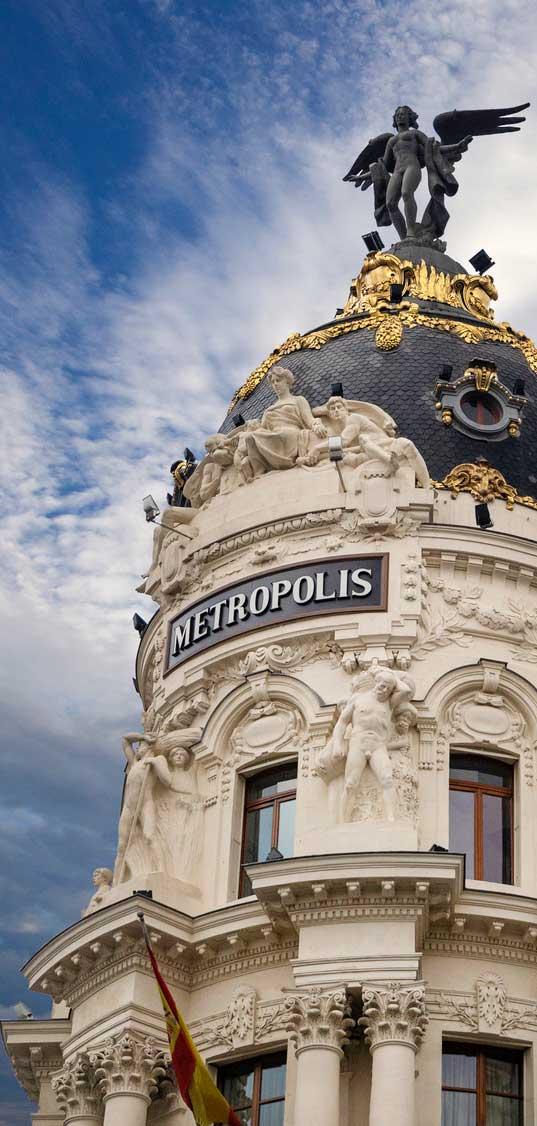 Edficio Metrópolis Victoria Alada