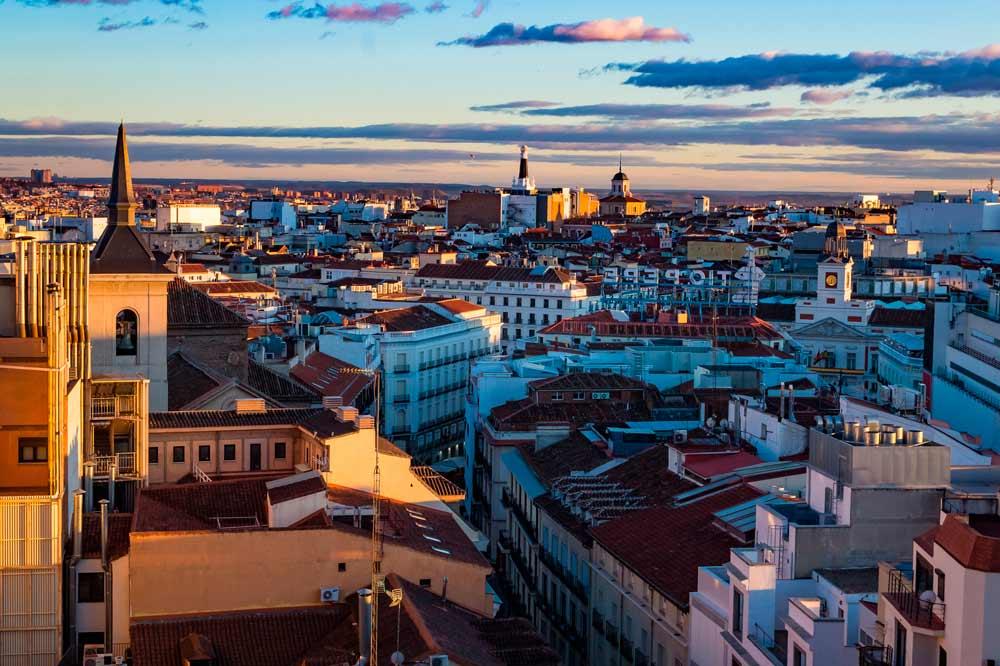 Viviendas de la ciudad de Madrid