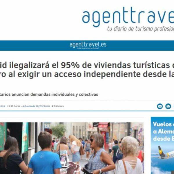 Madrid ilegalizará el 95% de viviendas turísticas del Centro al exigir un acceso independiente desde la calle