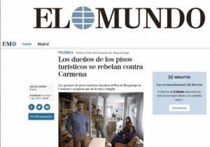 Los dueños de los pisos turísticos se rebelan contra Carmena